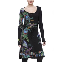 Desigual Fénix Dress, Black