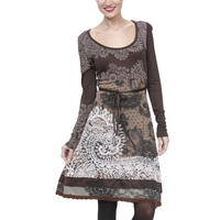 Desigual Tisdale Dress, Brown
