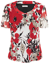 Windsmoor Poppy Print Blouse