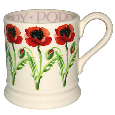 Emma Bridgewater National Gardens Scheme Mug, Poppy